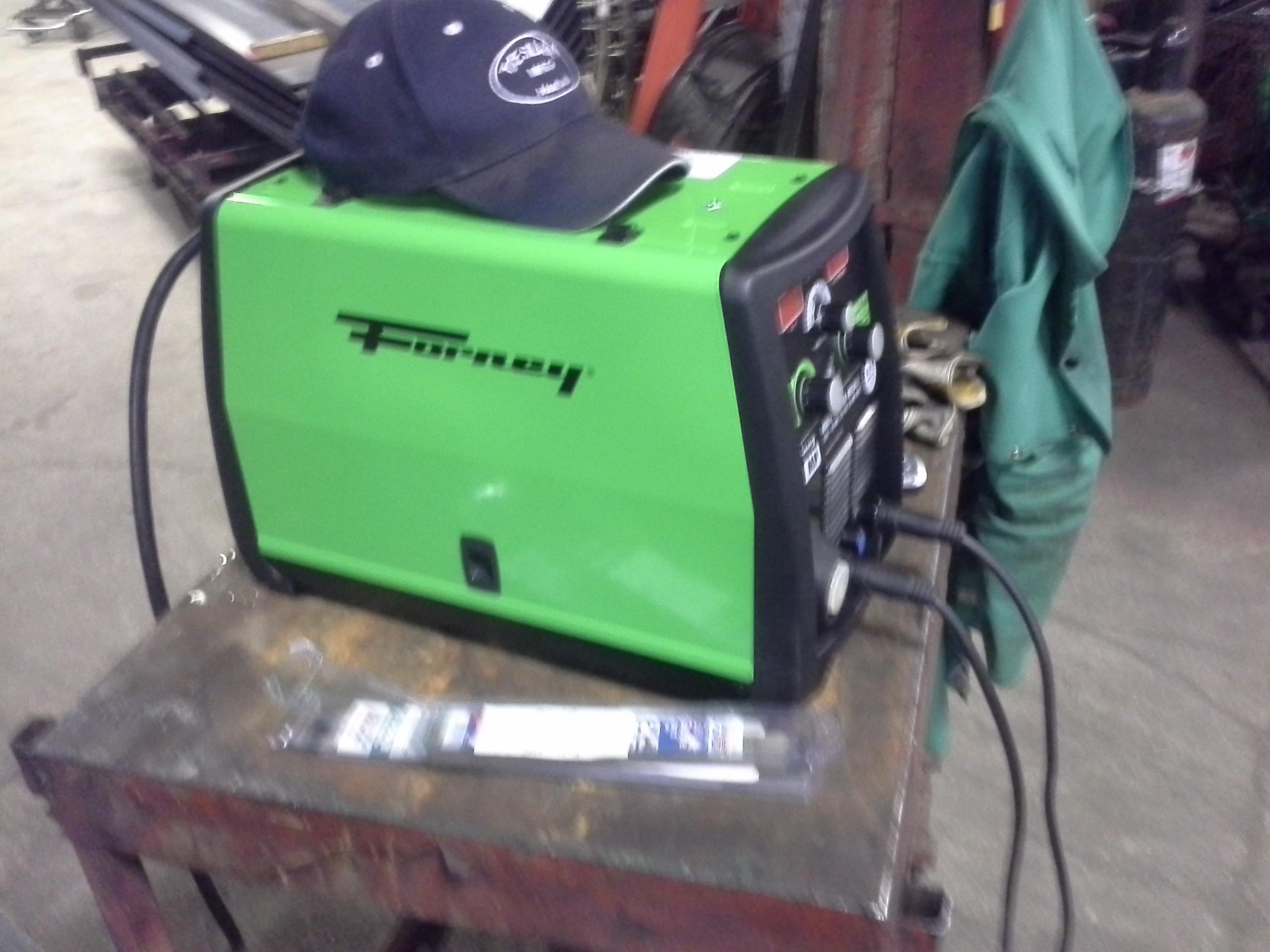 Forney 190 Mp Welder Te Slaa Manufacturing